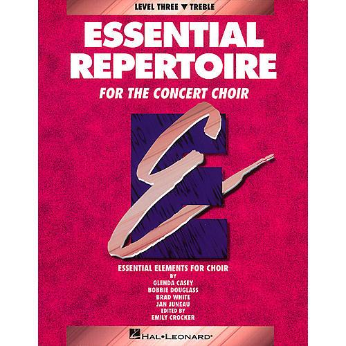 Hal Leonard Essential Repertoire for the Concert Choir Treble/Student 10-Pak Composed by Glenda Casey