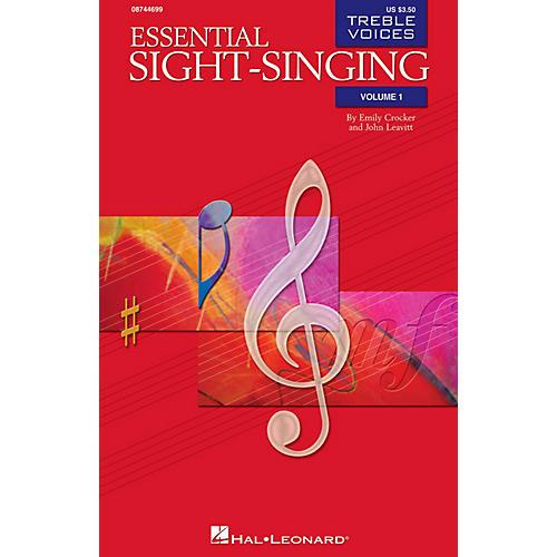 Hal Leonard Essential Sight-Singing Vol. 1 Treble Voices (Treble Voices Book Volume 1) SA
