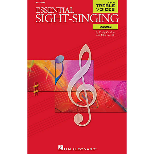 Hal Leonard Essential Sight-Singing Volume 2 Treble Voices SA composed by Emily Crocker