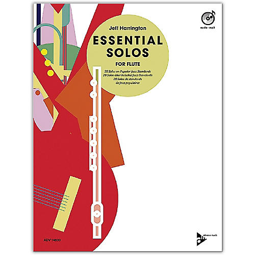 ADVANCE MUSIC Essential Solos for Flute Book & CD