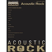 Hal Leonard Essential Songs - Acoustic Rock arranged for piano, vocal, and guitar (P/V/G)