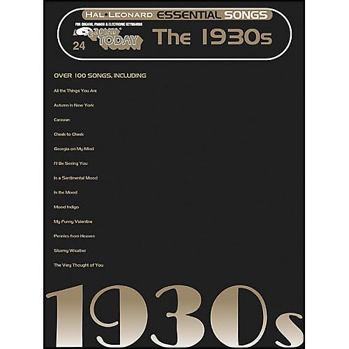 Hal Leonard Essential Songs - The 1930's E-Z Play 24