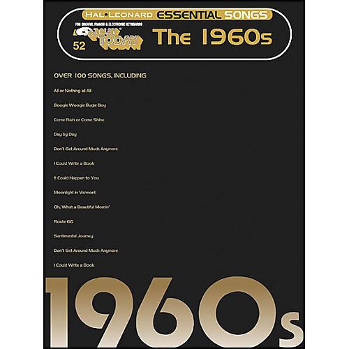 Hal Leonard Essential Songs - The 1960's E-Z Play 52