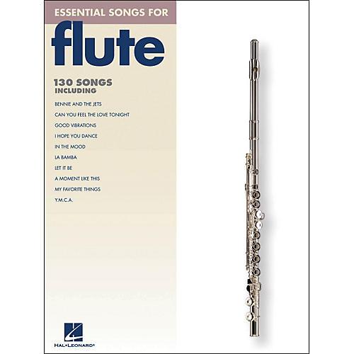 Hal Leonard Essential Songs For Flute