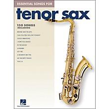 Hal Leonard Essential Songs For Tenor Sax
