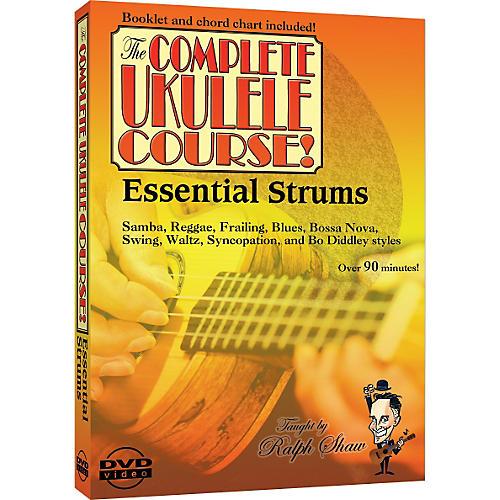 Emedia Essential Strums For The Ukulele Dvd Guitar Center