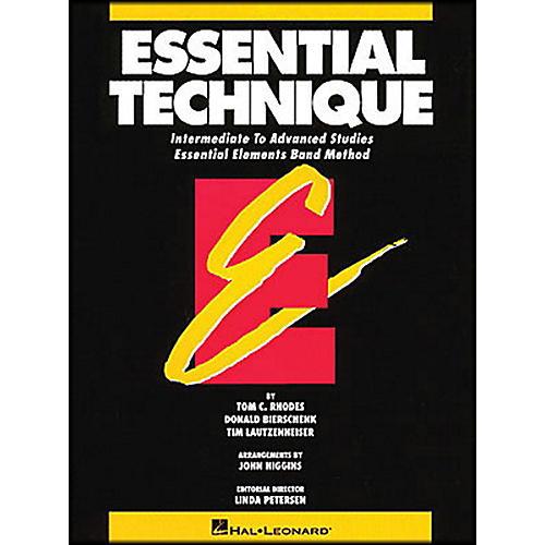 Hal Leonard Essential Technique B Flat Trumpet Intermediate To Advanced Studies