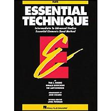 Hal Leonard Essential Technique Flute Intermediate To Advanced Studies