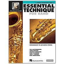Hal Leonard Essential Technique for Band - Bb Tenor Saxophone 3 Book/Online Audio