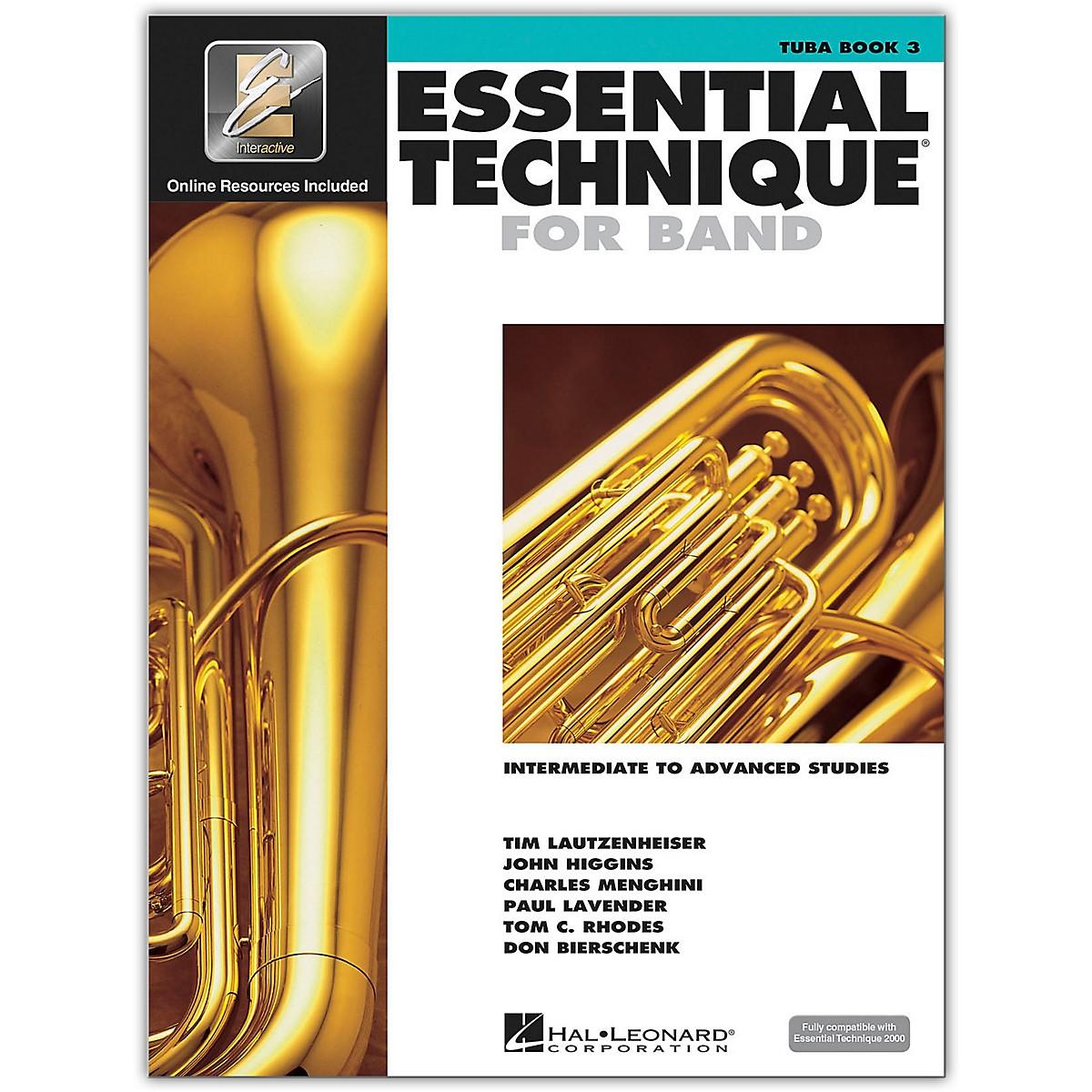 Hal Leonard Essential Technique for Band - Tuba 3 Book/Online Audio