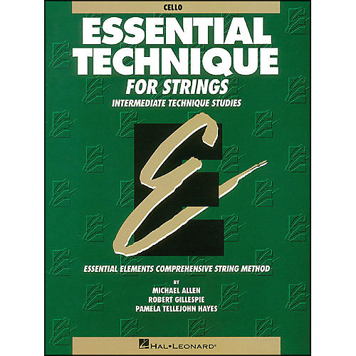 Hal Leonard Essential Technique for Strings Cello