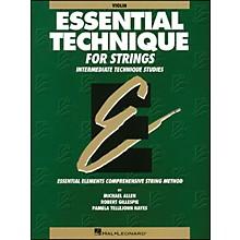 Hal Leonard Essential Technique for Strings Violin