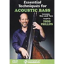 Homespun Essential Techniques for Acoustic Bass (DVD)