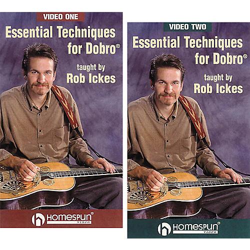 Homespun Essential Techniques for Dobro 2-Video Set (VHS)