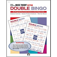Alfred Essentials of Music Theory Double Bingo