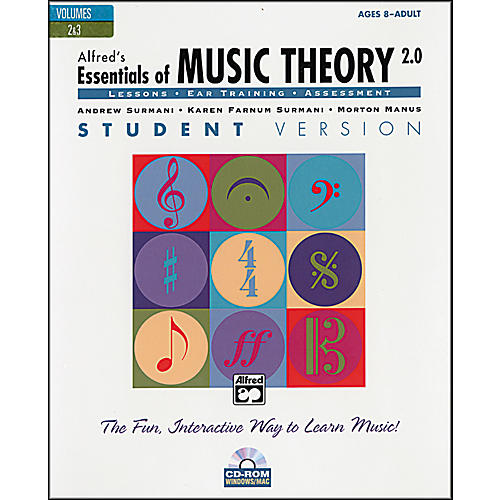 Alfred Essentials of Music Theory: Software Version 2.0 CD-ROM Student Version Volumes 2 & 3
