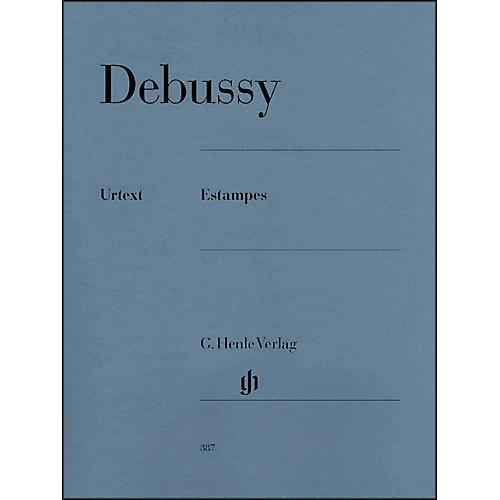 G. Henle Verlag Estampes By Debussy