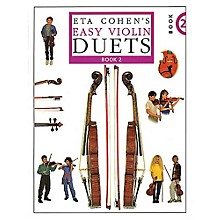 Novello Eta Cohen's Easy Violin Duets - Book 2 Music Sales America Series
