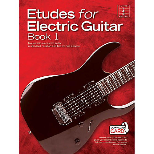 Music Sales Etudes for Electric Guitar - Book 1 Music Sales America Series Softcover Audio Online