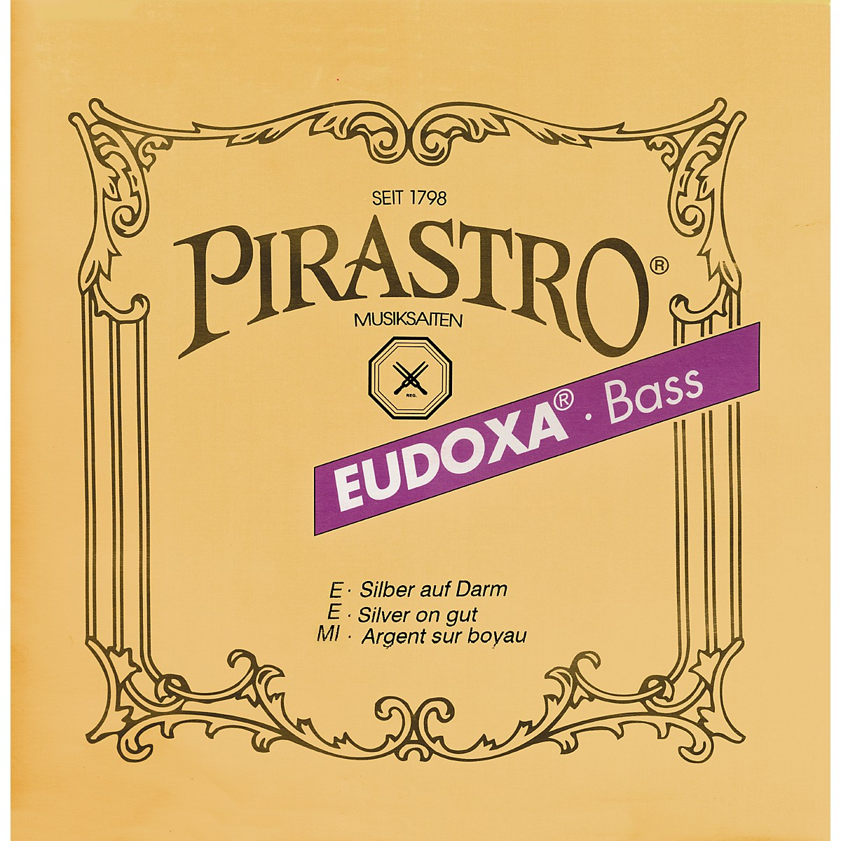 Pirastro Eudoxa Series Double Bass String Set