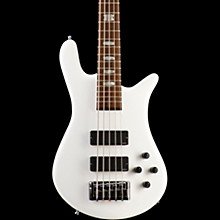 Spector Euro5 LX 5-String Electric Bass Guitar Gloss White
