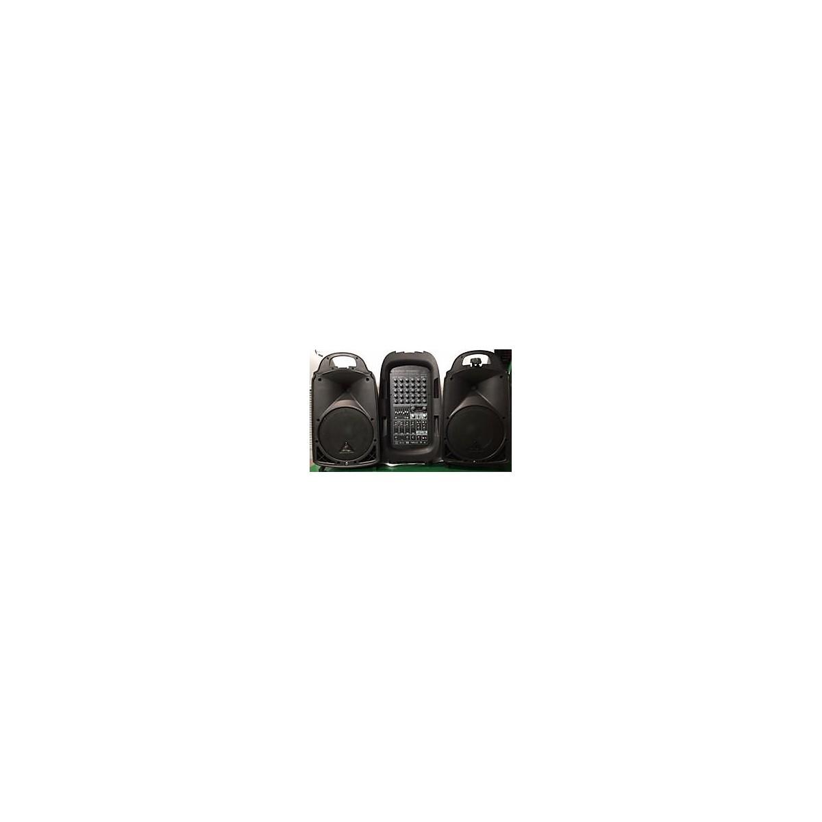 Behringer Europort PPA2000BT Sound Package
