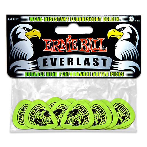 Ernie Ball Everlast Delrin Picks 12 Pack (Heavy)