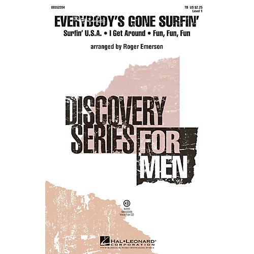 Hal Leonard Everybody's Gone Surfin' (Discovery Level 1) TB arranged by Roger Emerson