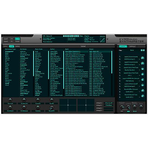 KV331 Audio Everything Bundle Upgrade From SynthMaster One