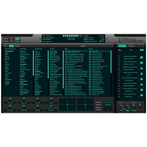 KV331 Audio Everything Bundle Upgrade From SynthMaster Player