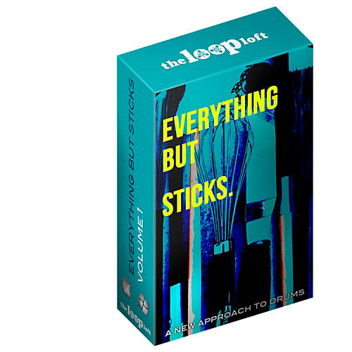 The Loop Loft Everything But Sticks - Drum Loops Software Download