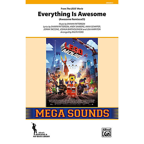 Alfred Everything Is Awesome (from The Lego Movie) Grade 3 (Medium)