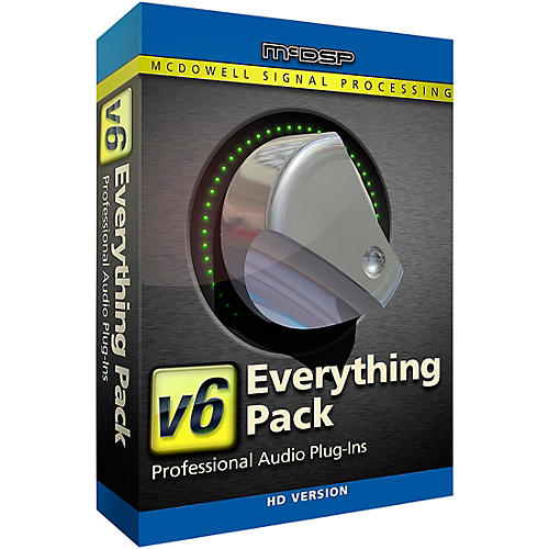 McDSP Everything Pack HD v6 (Software Download)