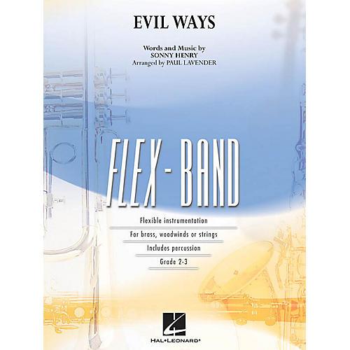 Hal Leonard Evil Ways Concert Band Level 2-3 Arranged by Paul Lavender