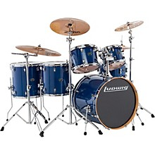 Evolution Maple 6-Piece Shell Pack Transparent Blue