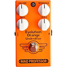Mad Professor Evolution Orange Underdrive Effects Pedal