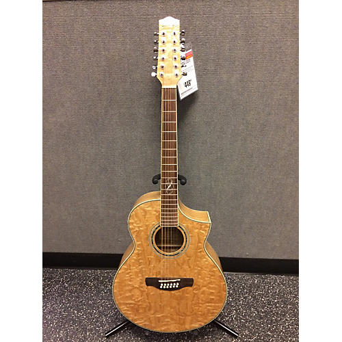 used ibanez ew2012 12 string acoustic electric guitar guitar center. Black Bedroom Furniture Sets. Home Design Ideas