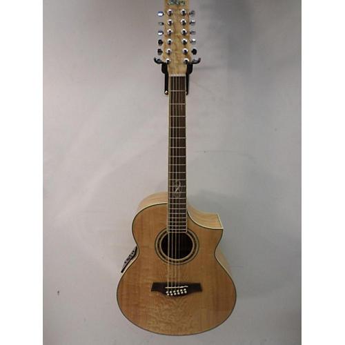 used ibanez ew2012ase 12 string acoustic electric guitar antique natural guitar center. Black Bedroom Furniture Sets. Home Design Ideas
