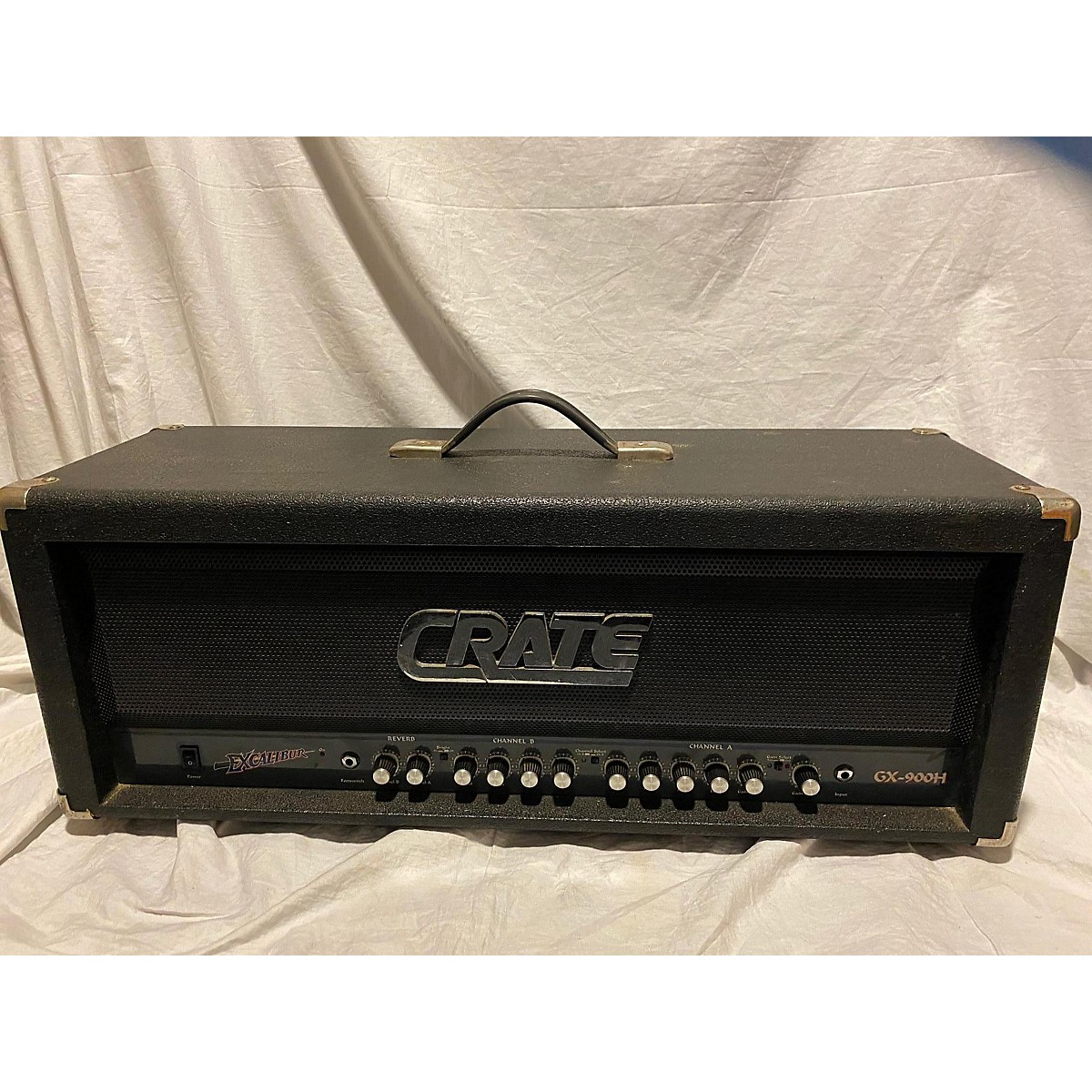 Crate Excalibur Gx-900H Solid State Guitar Amp Head