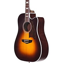 Excel Bowery Acoustic-Electric Guitar Level 2 Sunburst 190839287144