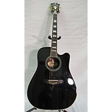 D'Angelico Excel DAASD500BLK Acoustic Electric Guitar