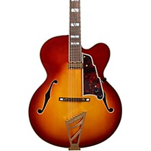 Excel EXL-1 Hollowbody Electric Guitar with Stairstep Tailpiece Iced Tea Burst