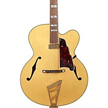 Excel EXL-1 Hollowbody Electric Guitar with Stairstep Tailpiece Level 1 Natural