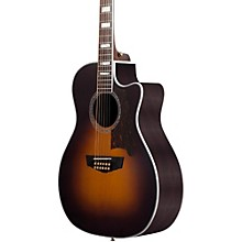 Excel Fulton 12-String Acoustic-Electric Guitar Sunburst