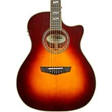 Excel Gramercy Grand Auditorium Acoustic-Electric Guitar Vintage Sunburst