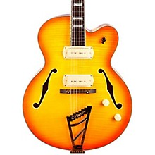 Excel Series 59 Hollowbody Electric Guitar with Stairstep Tailpiece Level 2 Sunburst 190839843128
