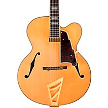 Excel Series EXL-1 Hollowbody Electric Guitar with Stairstep Tailpiece Gloss Natural