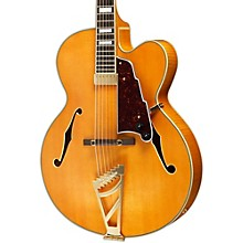 Excel Series EXL-1 Hollowbody Electric Guitar with Stairstep Tailpiece Natural