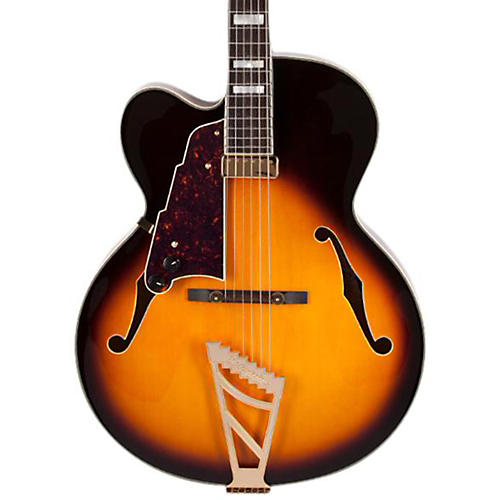 D'Angelico Excel Series EXL-1 Left Handed Hollowbody Electric Guitar with Stairstep Tailpiece