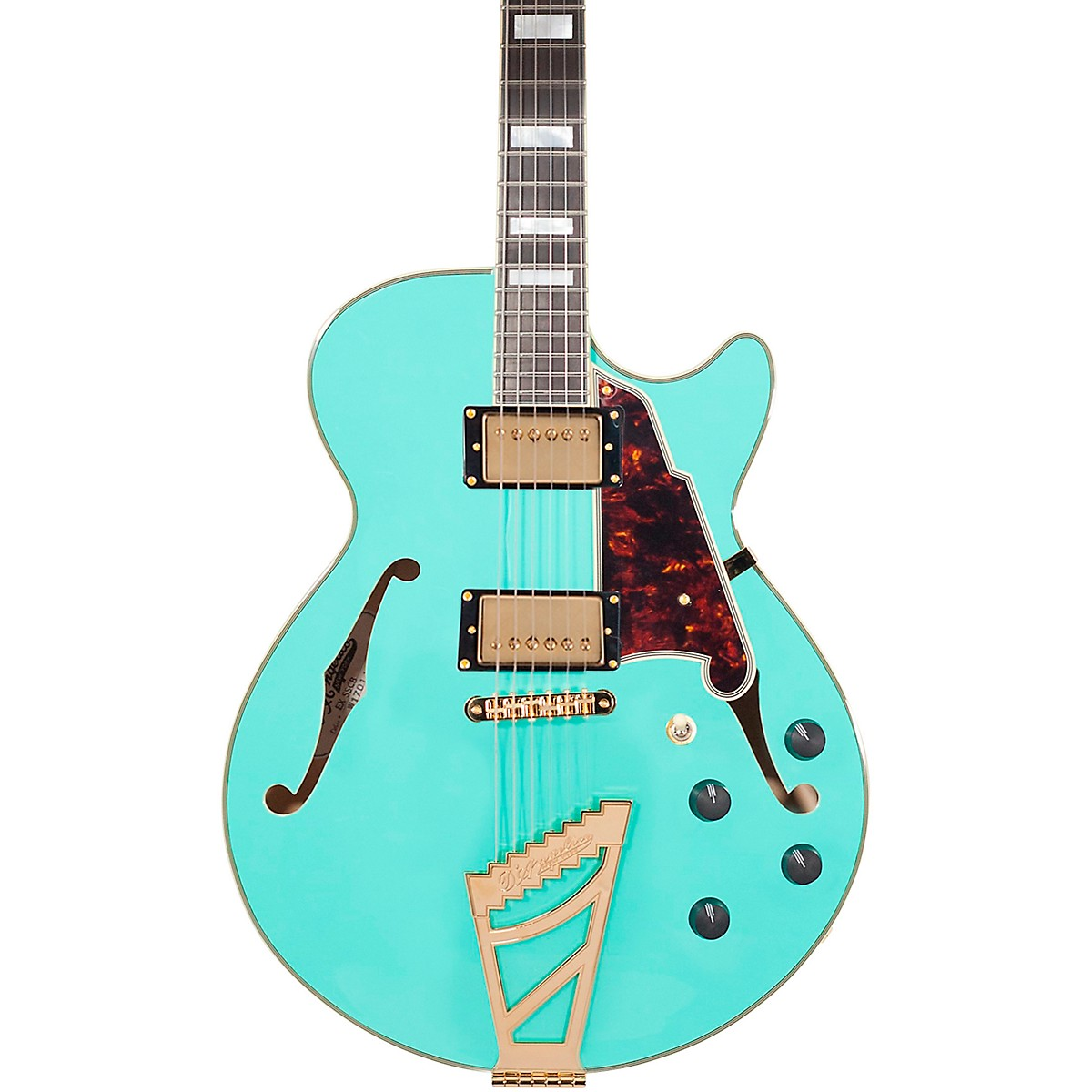 D'Angelico Excel Series SS Semi-Hollowbody Electric Guitar with Stairstep Tailpiece